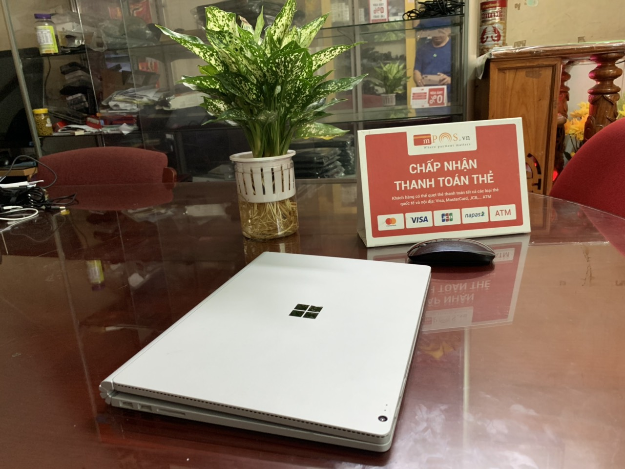 "SURFACE BOOK 1 I7 6600U 8GB 256GB 13.5"" TOUCH"